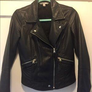 Zara Ramones Trafaluc  leather jacket.